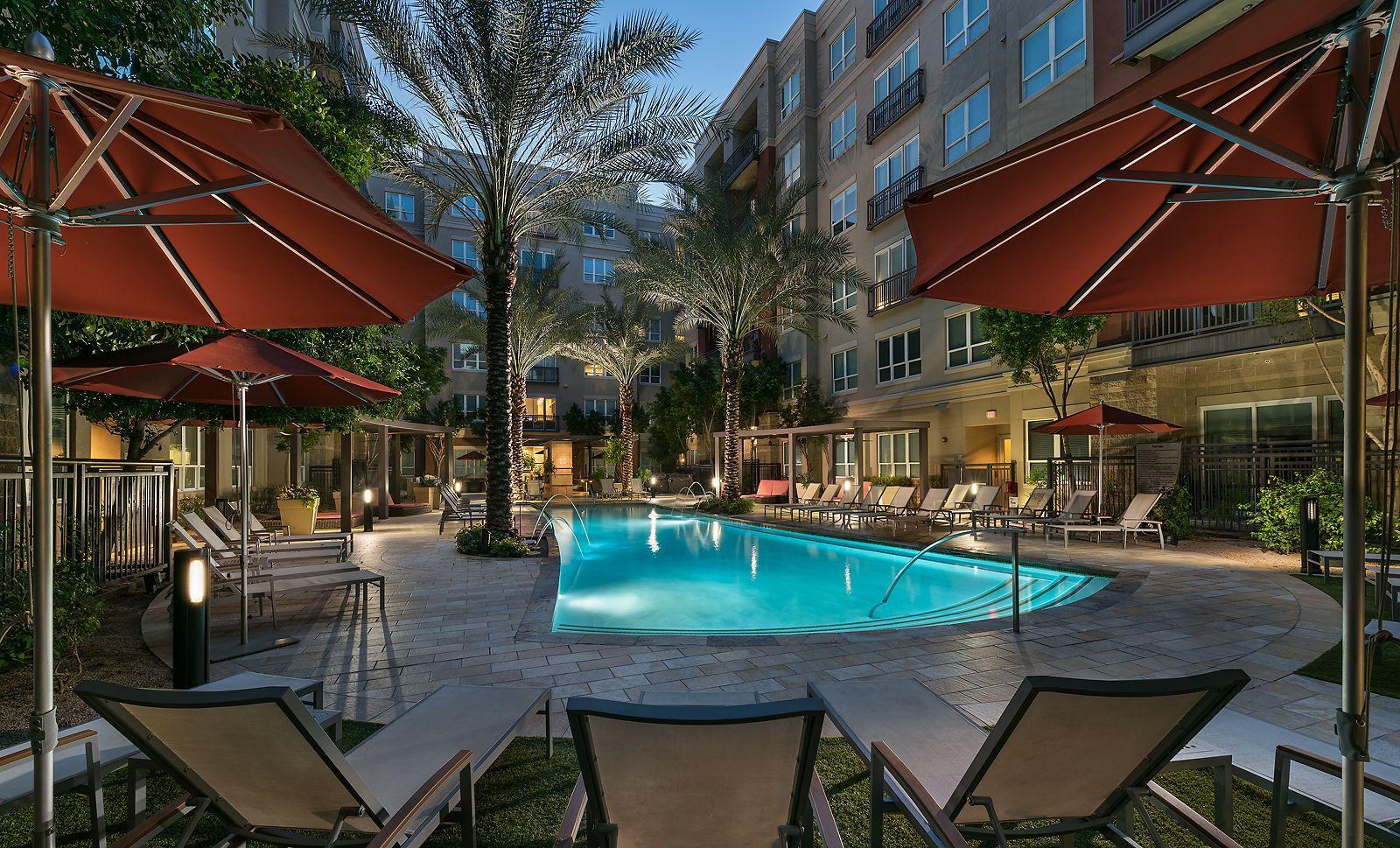 Heated Pool Emerson Mill Avenue Apartments Arizona